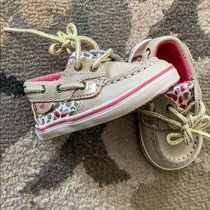 Infant/Toddler size 1 Sperry boat shoes